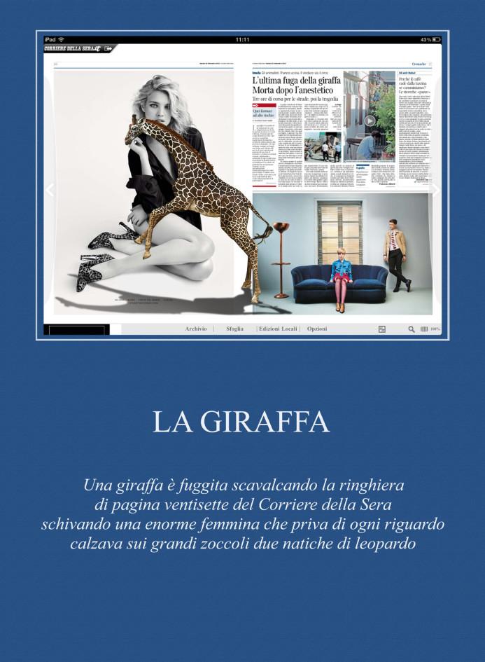 Giraffa 1 testo