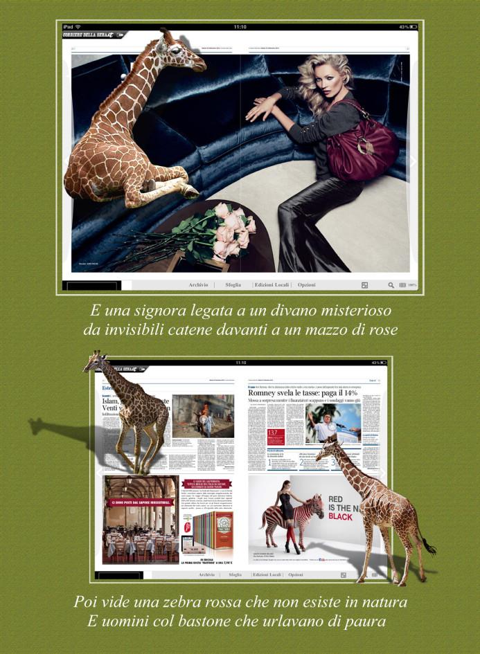 Giraffa 3 testo
