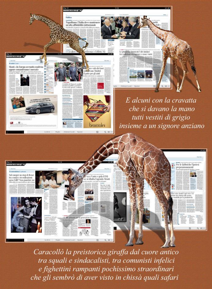 Giraffa 4 testo