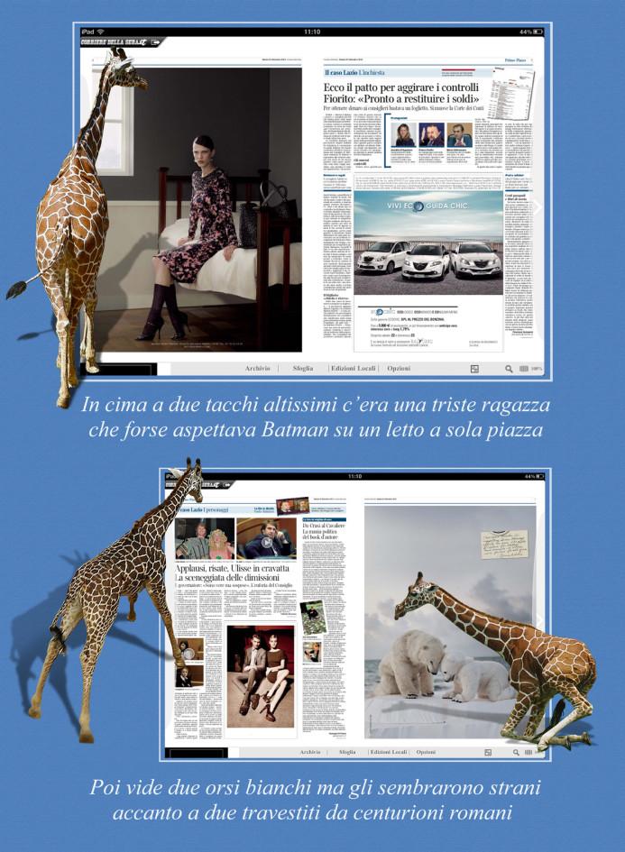 Giraffa 5 testo