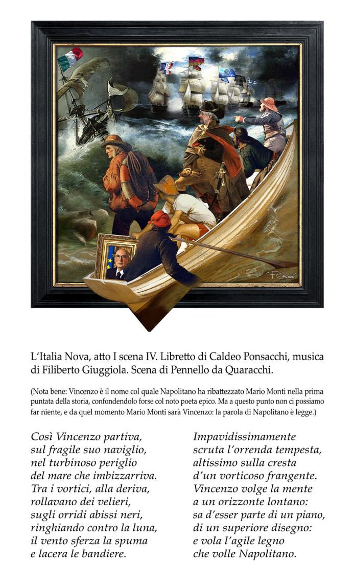 Napolitano Monti atto II testo bassissima